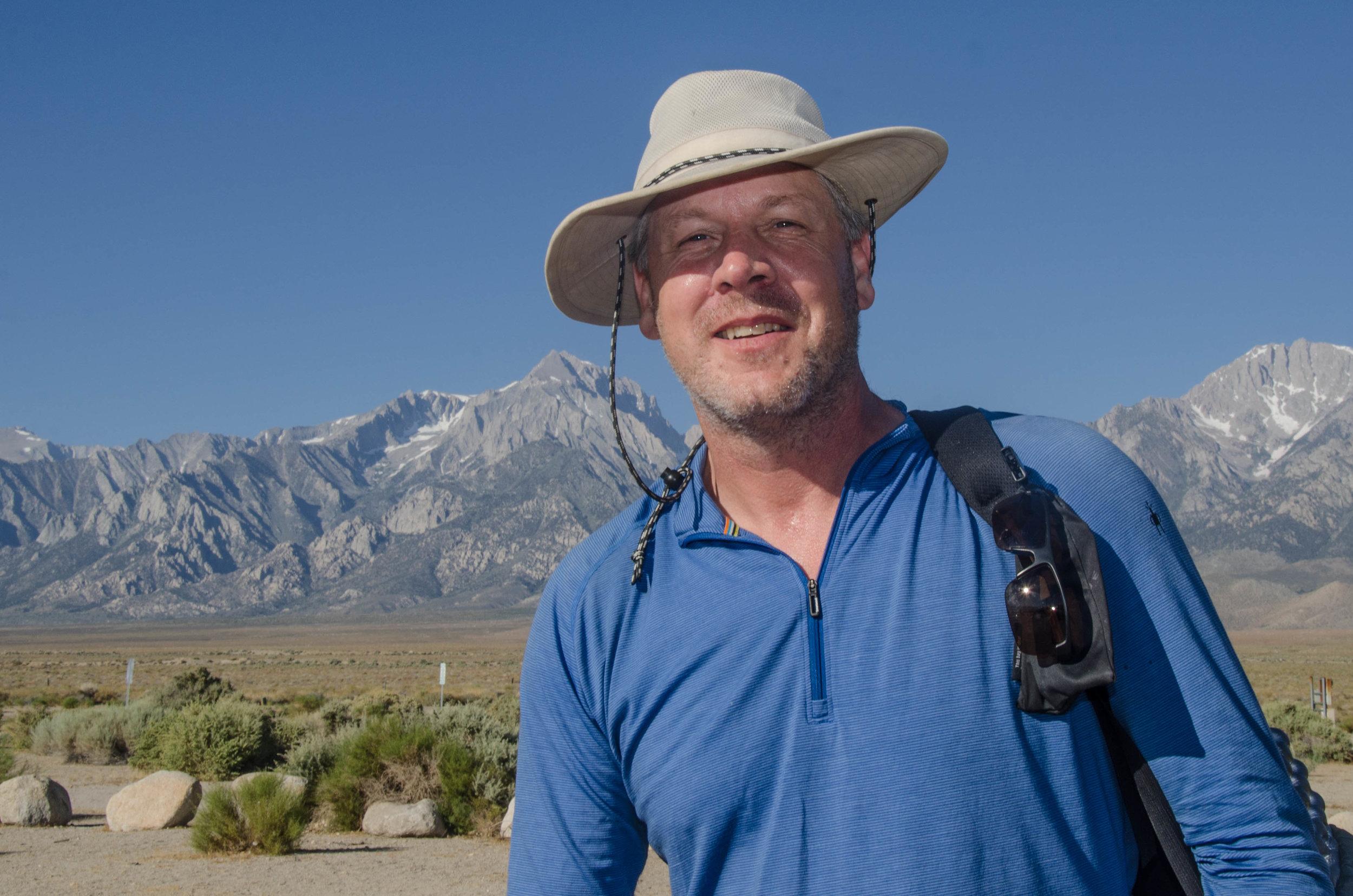 Randy, JMT hiker