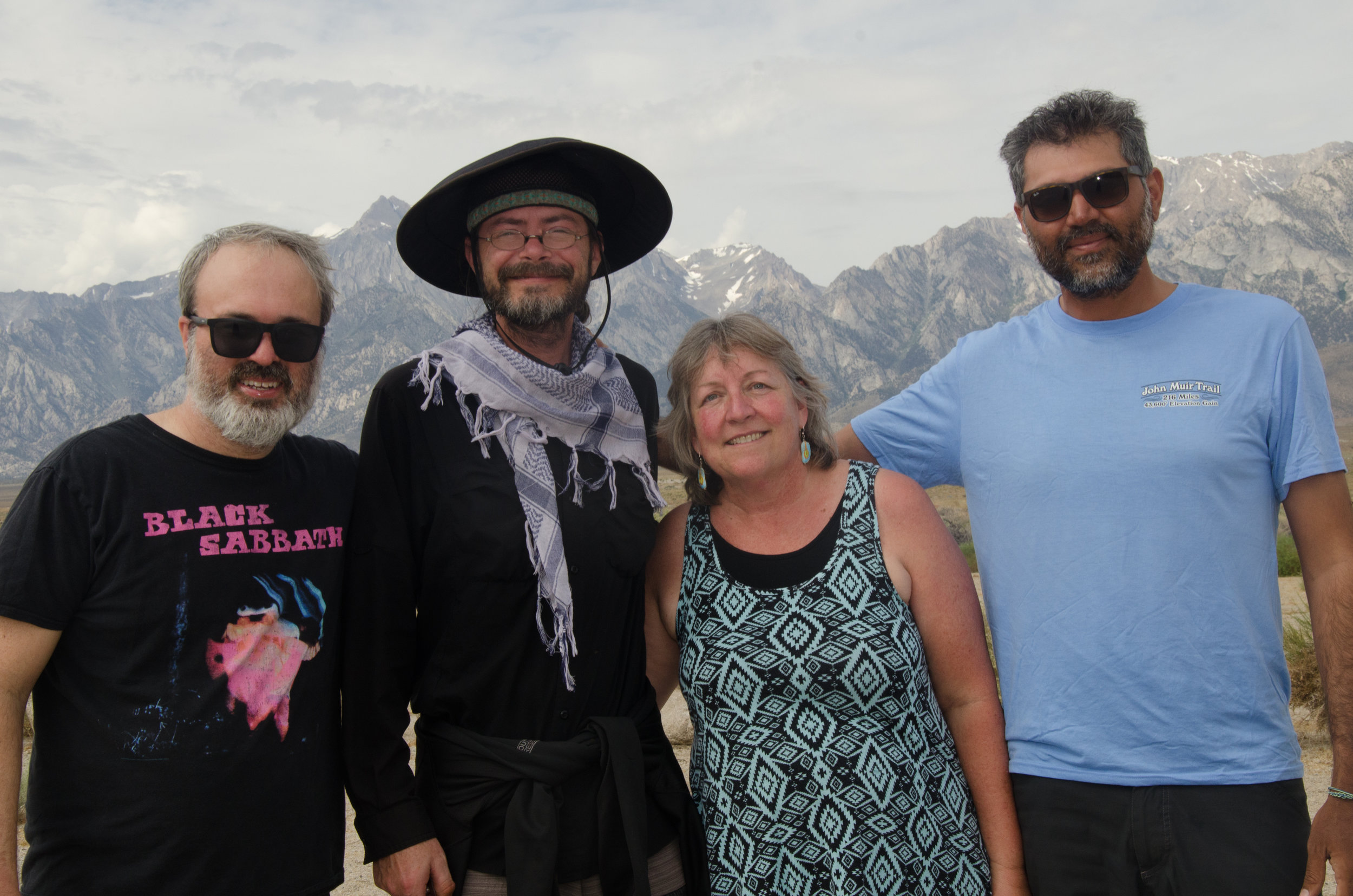 JMT hikers with Owner Lauralyn