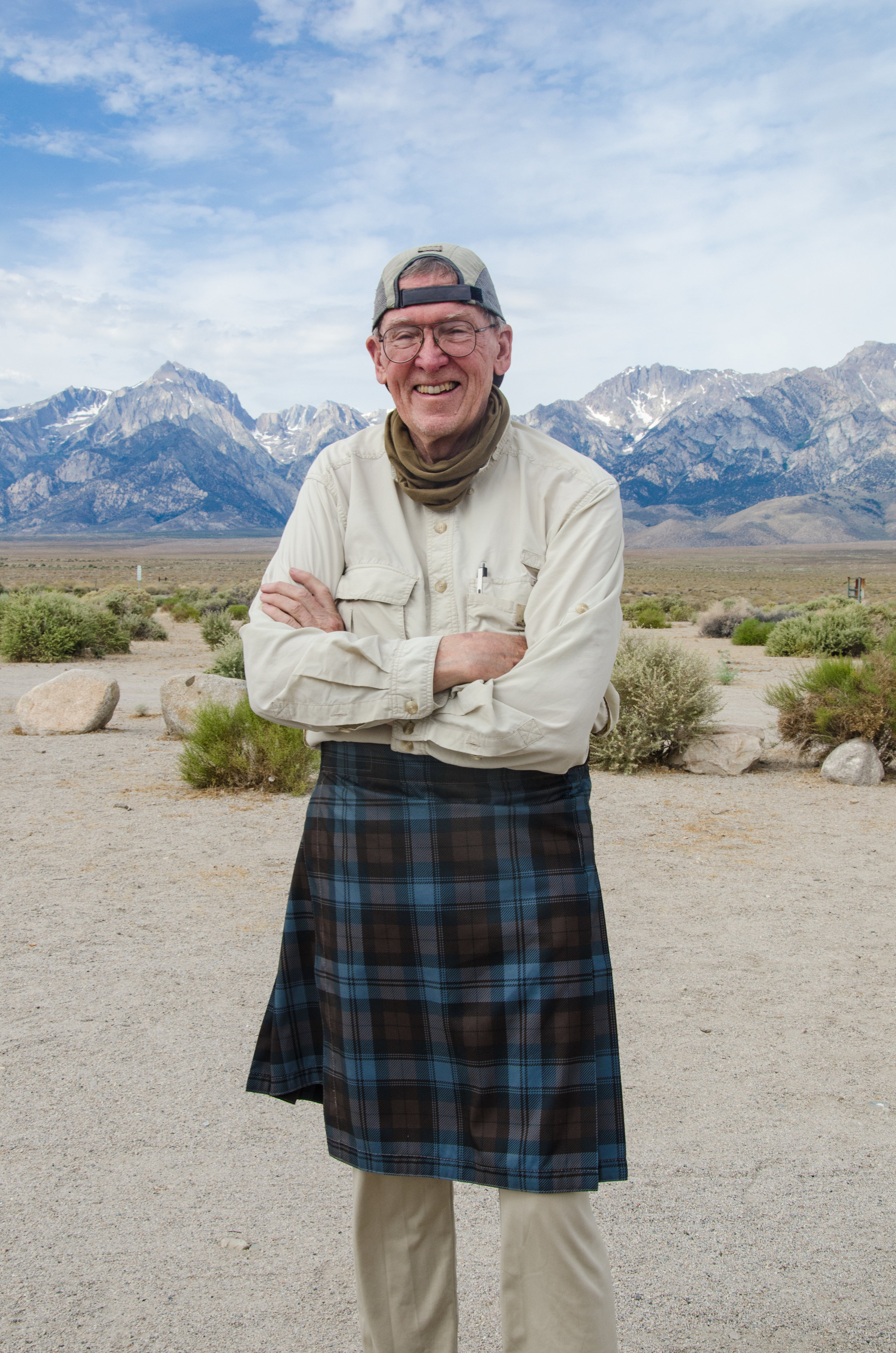 Author of the Annual JMT hiker Survey, John Ladd