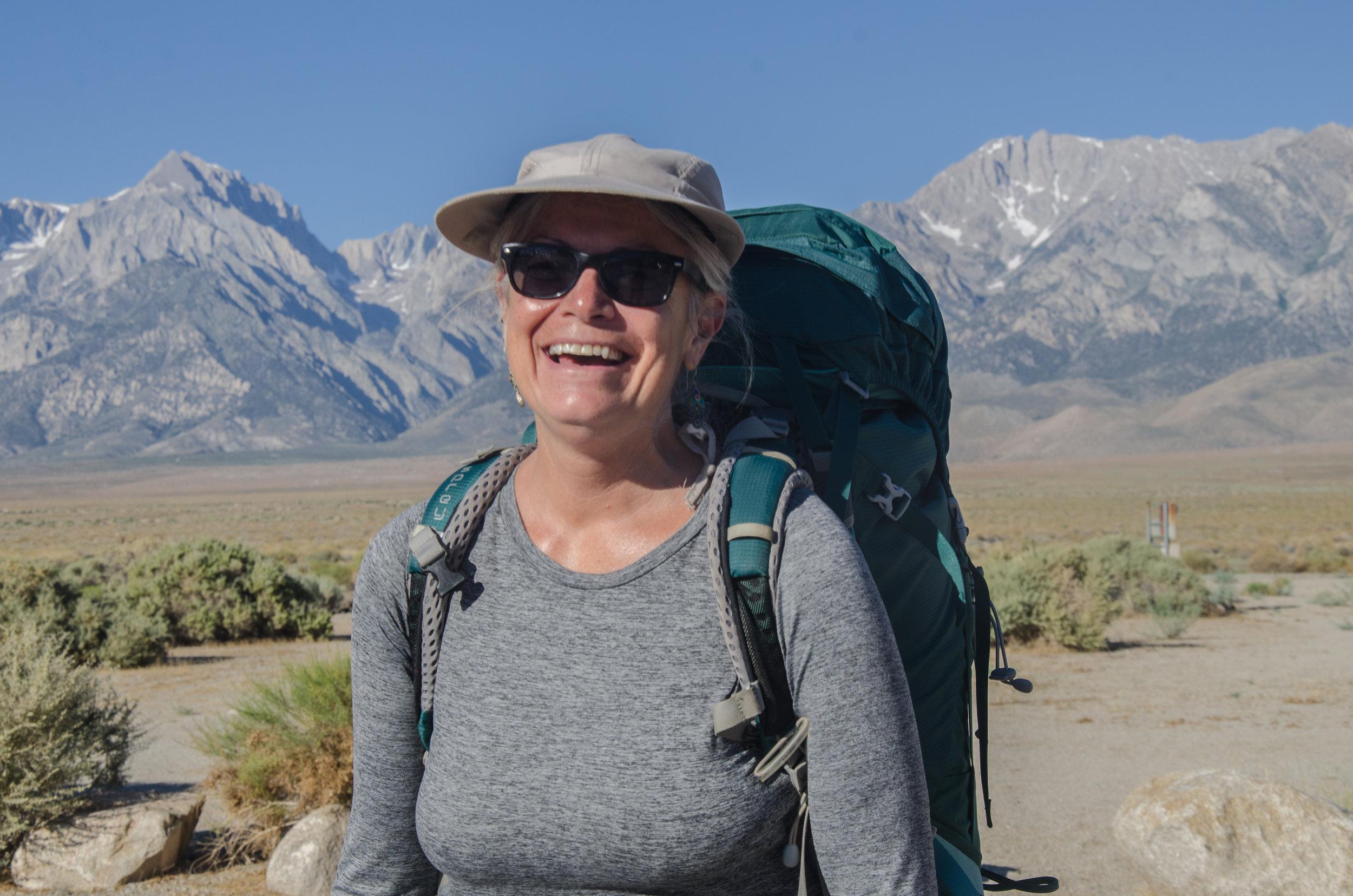 JMT Hiker Lori