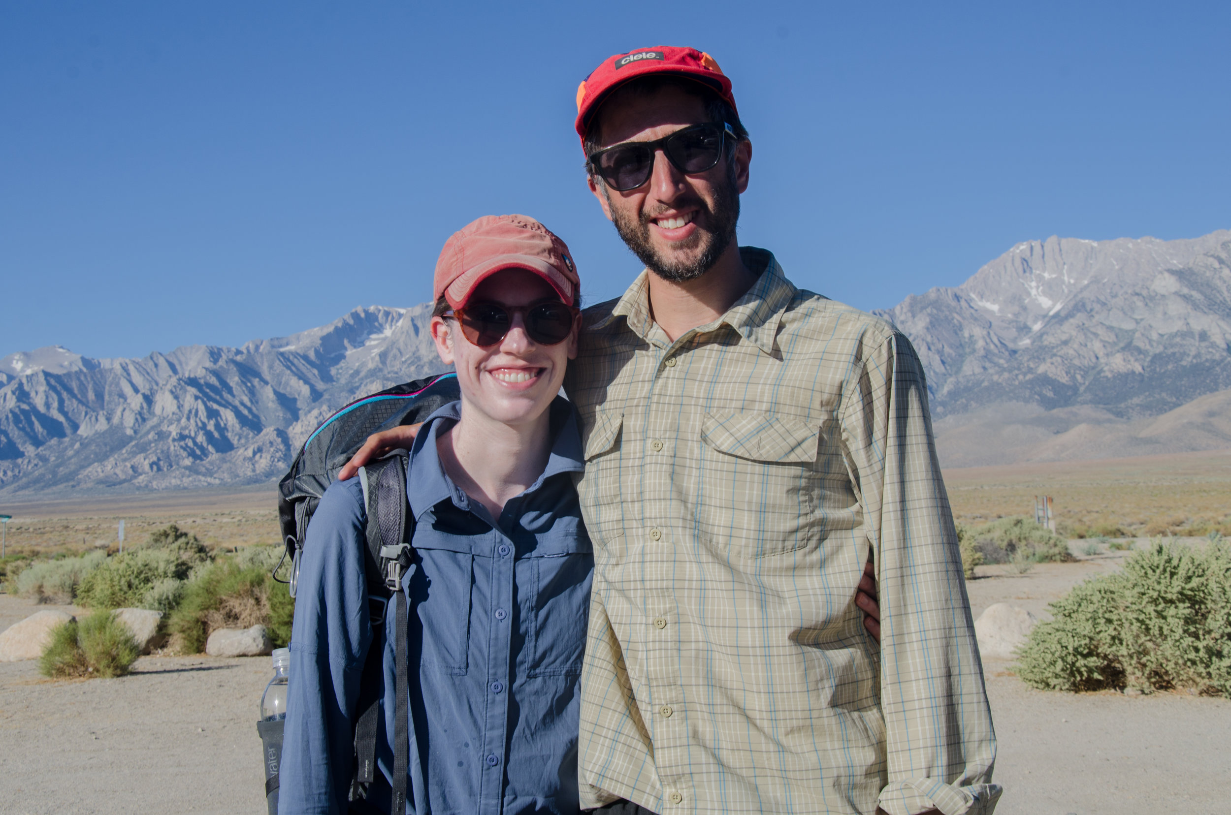JMT Hikers Christy and Thomas