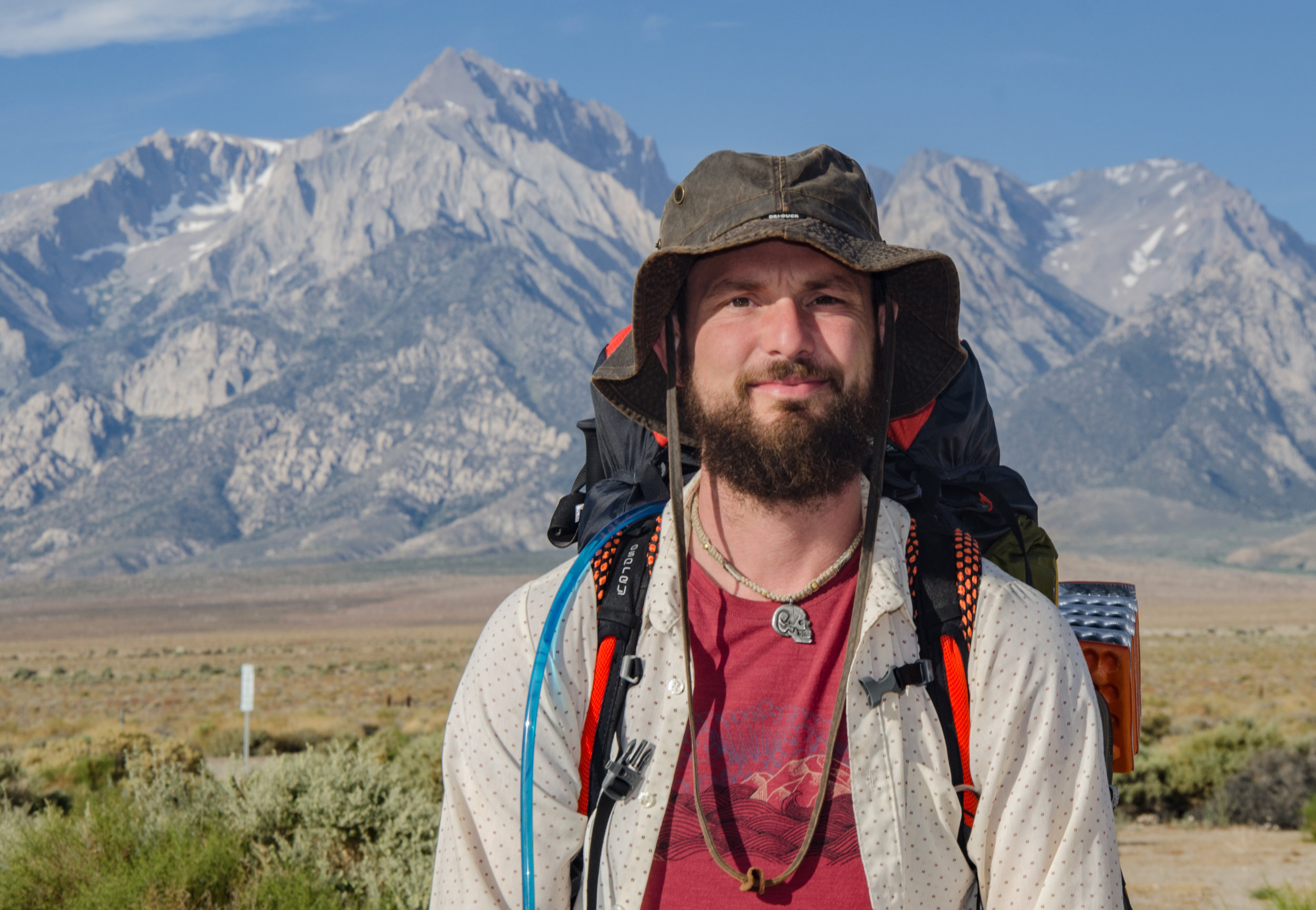 JMT Hiker Matt