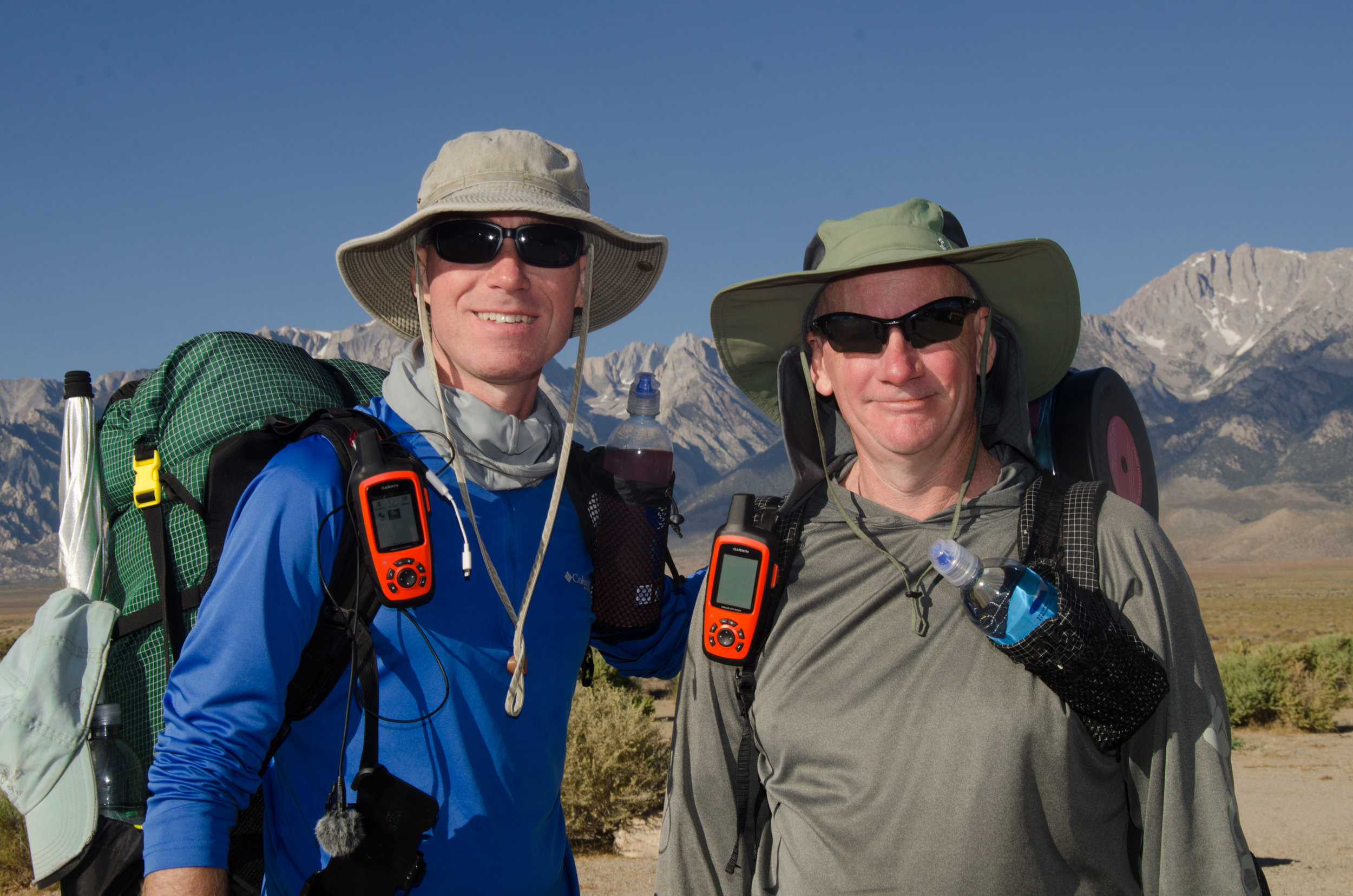 JMT Hikers Rance and Sean