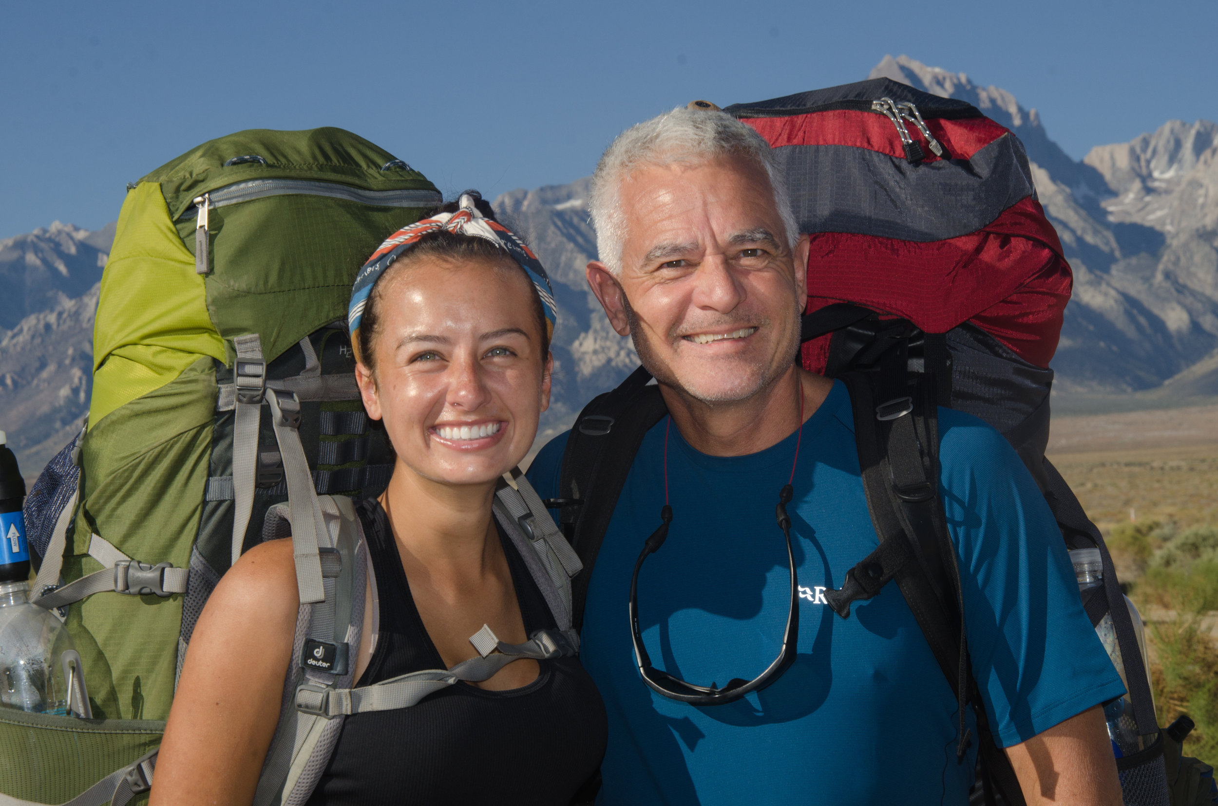 JMT Father daughter duo Cody and Kevin