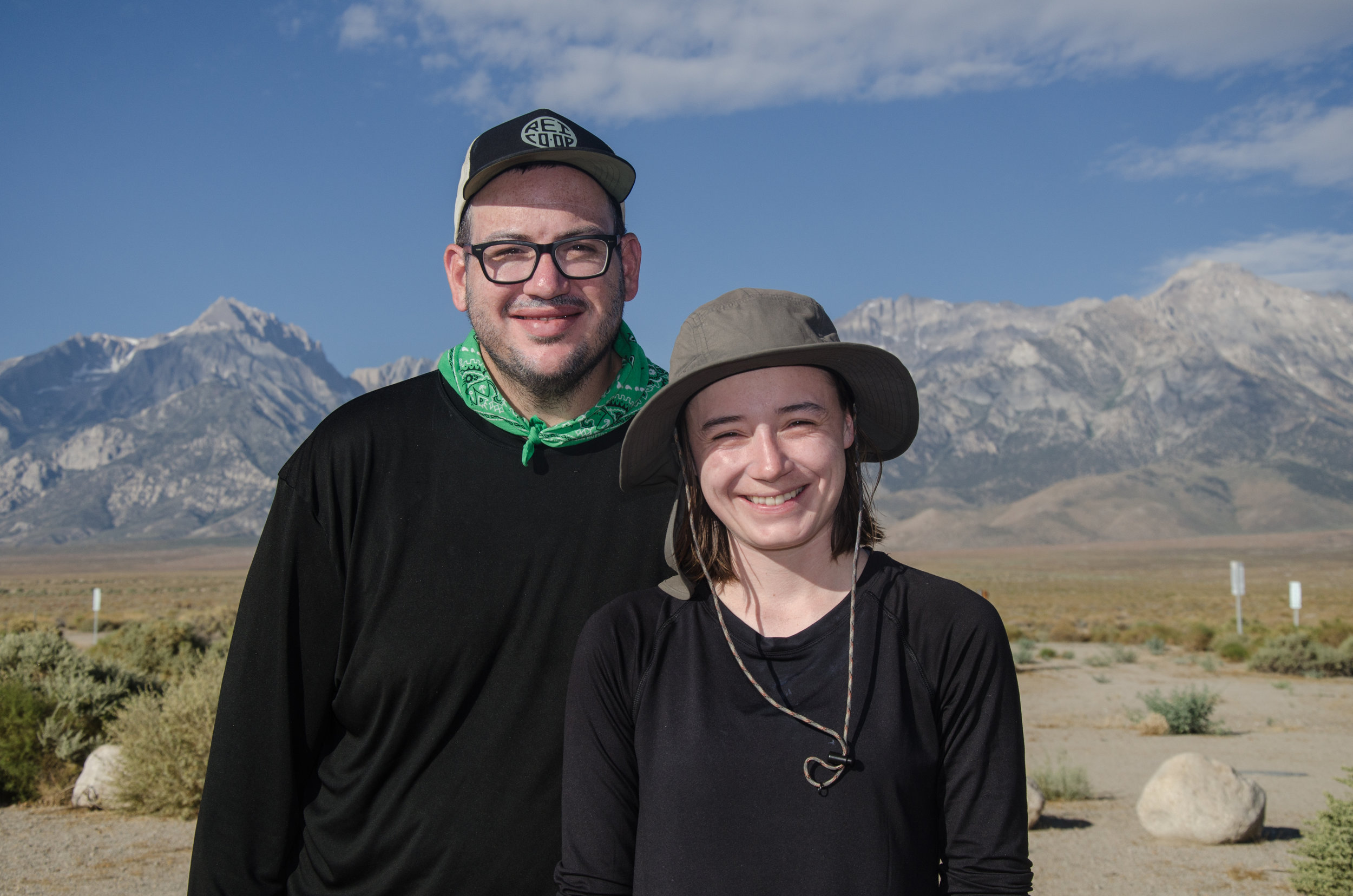 JMT Hikers Andrew and Raquel