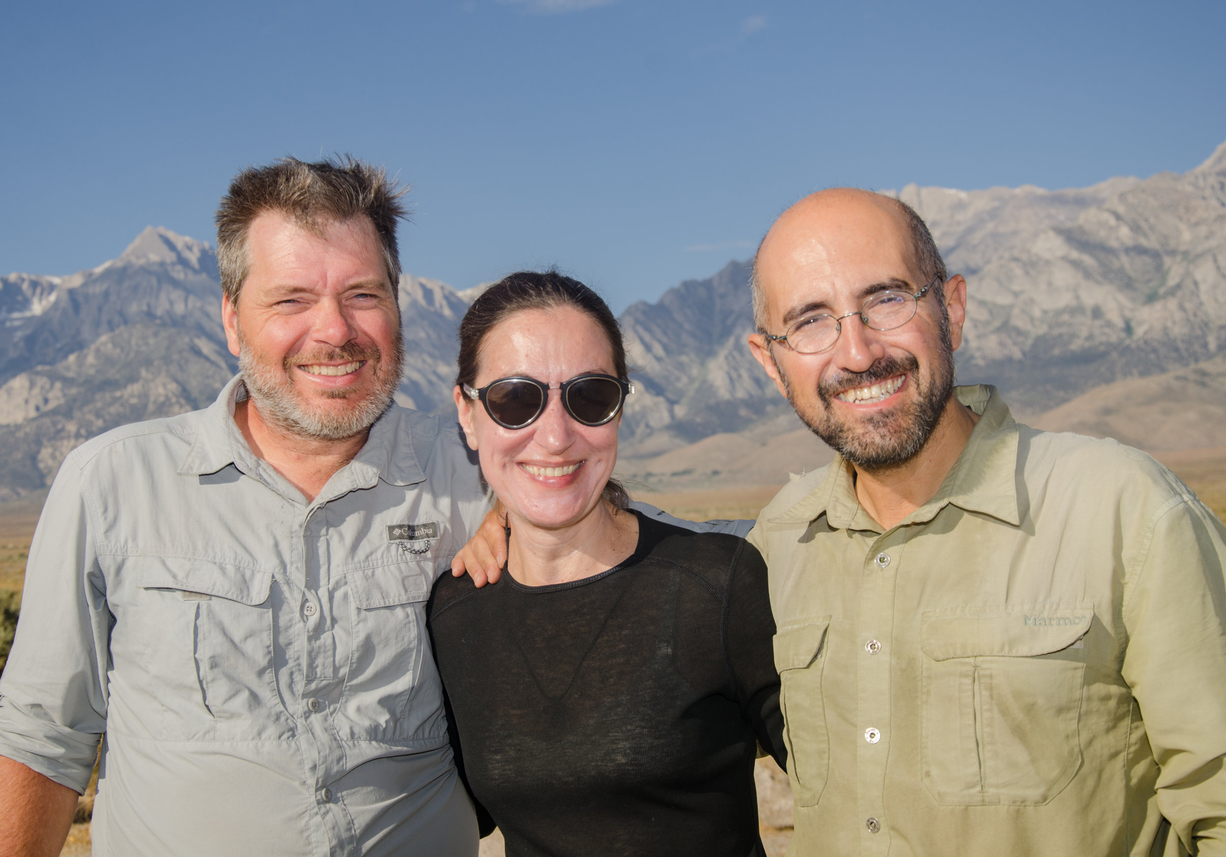 JMT hiker Georgios and friends from Greece and Canada