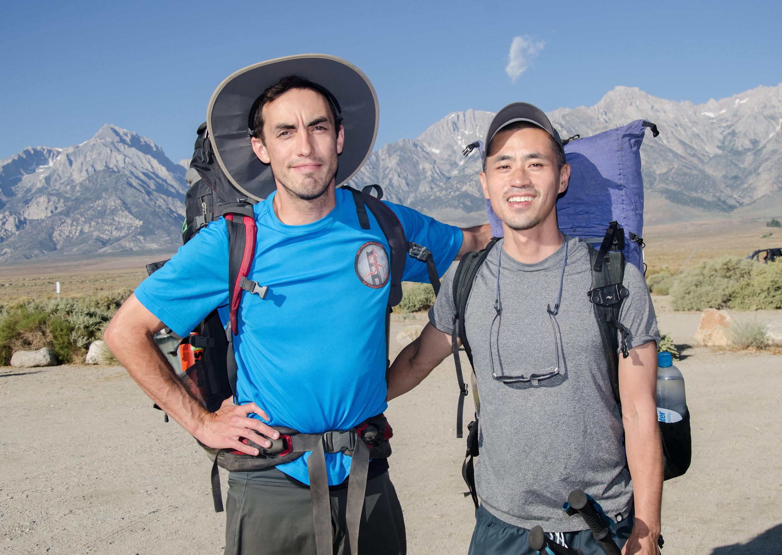 JMT Hikers Mike and Brendan