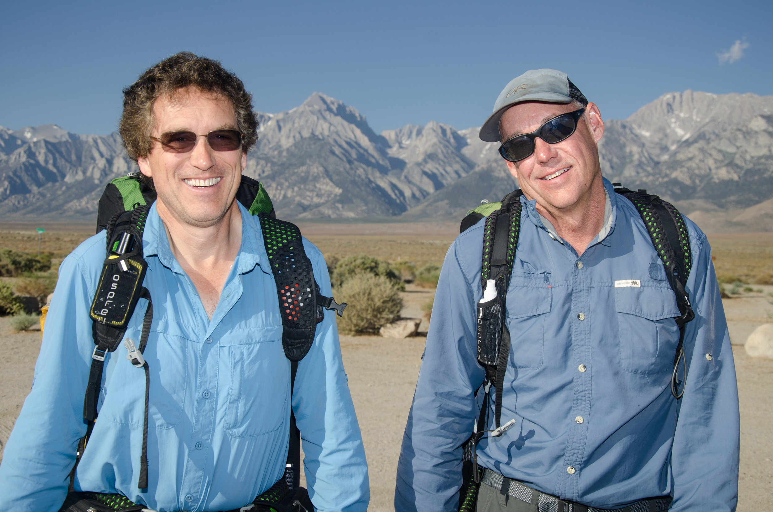 JMT Hikers Mike and Randy