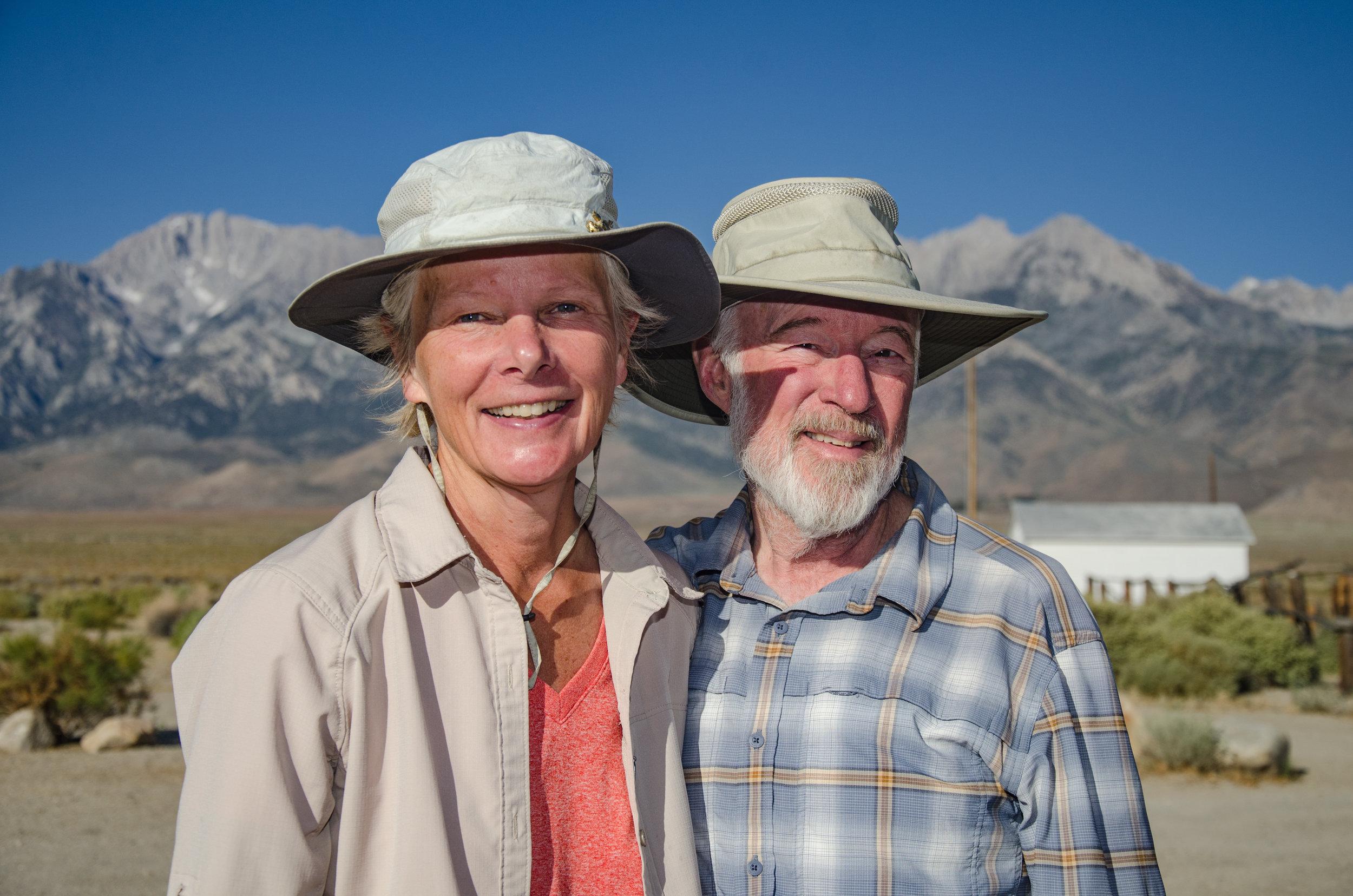 JMT SOBO Hikers Ellen and her partner