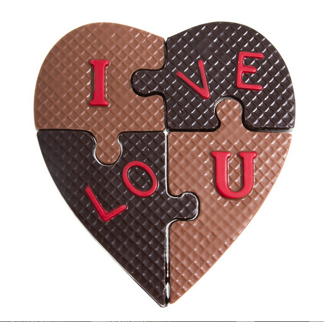 I love U Puzzle by Jacques Torres