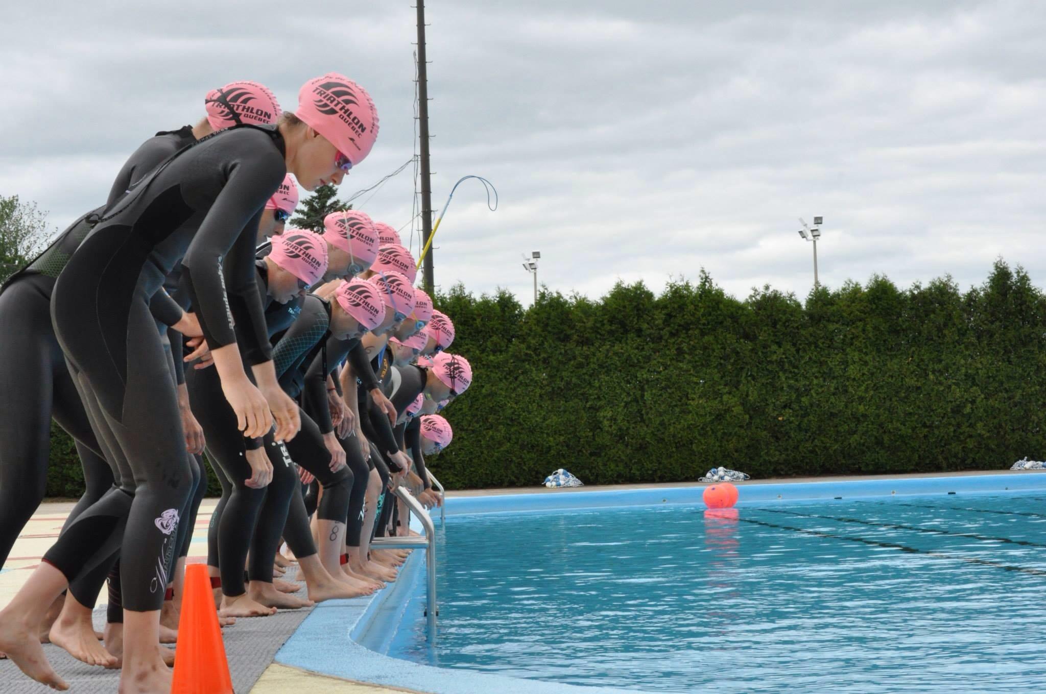 Départ des juniors élites filles ( photo TQ)