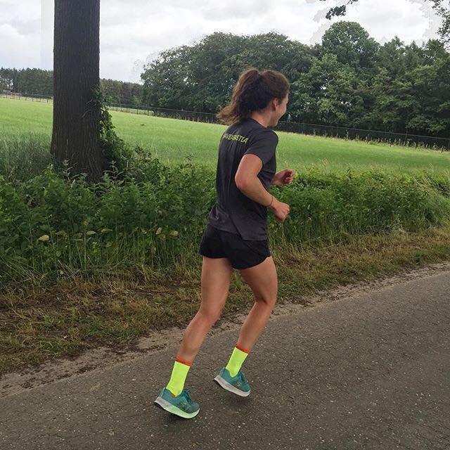 Course en entraînement à Wuustwezel, Belgique.