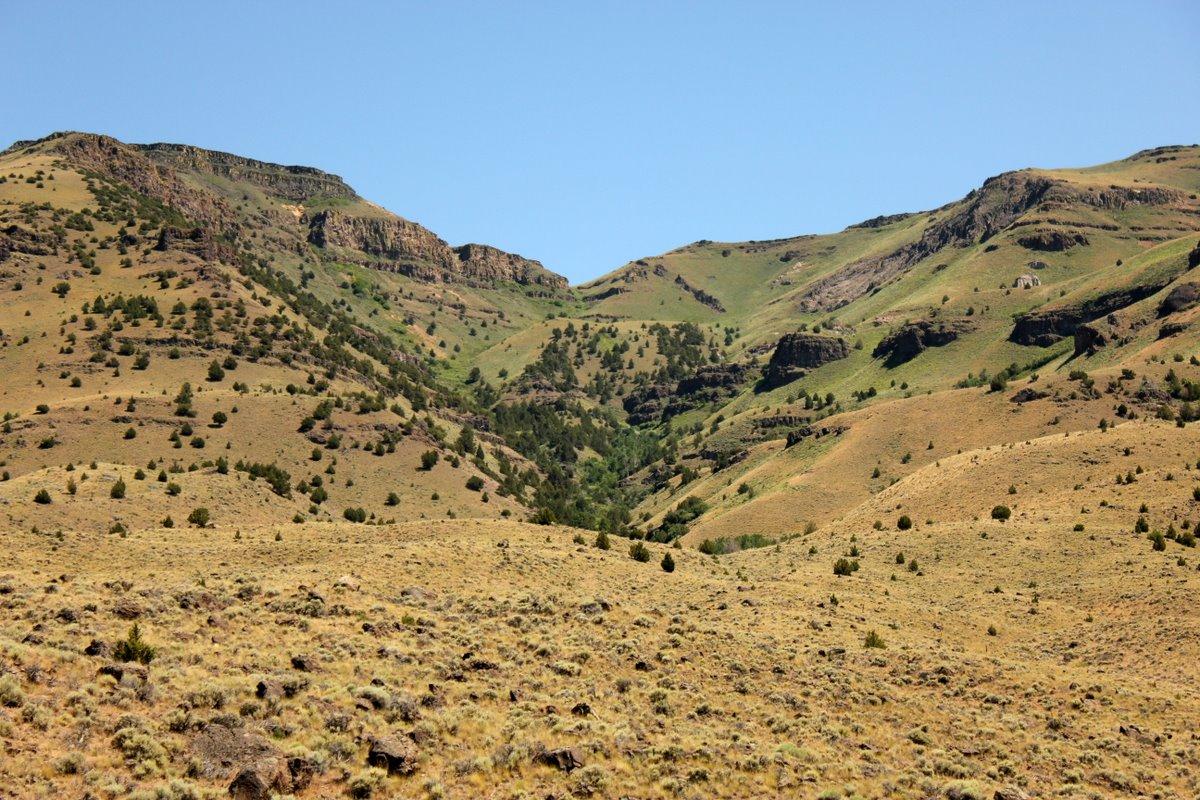 Pathological Oregon scenery....