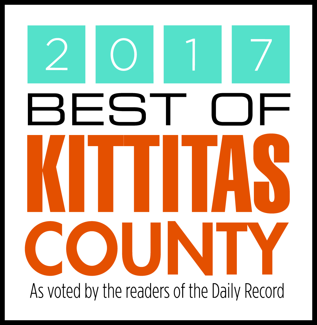 2017 Best of Kittitas County!