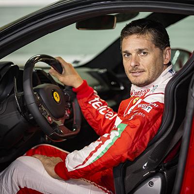 Copy of Fisichella in the drivers seat