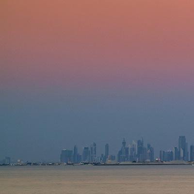 Copy of Dubai Skyline Photo 1a