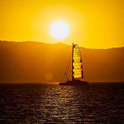 Copy of Sunset in Whitsundays
