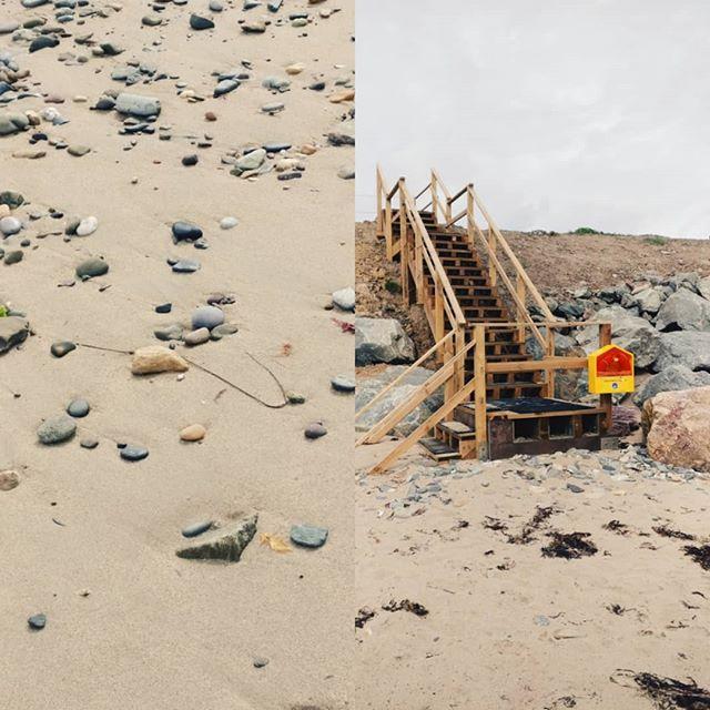 Bastardstown beach, Co. Wexford. Pretty chilled down here. 😊🏖️ . . . . #travel #beach #sand #texture #chill