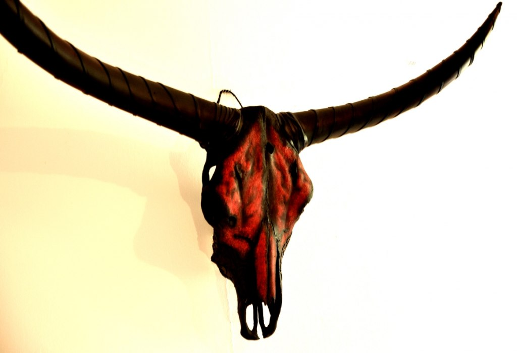 Galnakh'xor - The Grand Defier. Skulls & Bones Artwork by Petra Shara Stoor