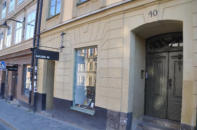 Galleri 40, Hornsgatan 40 in Stockholm