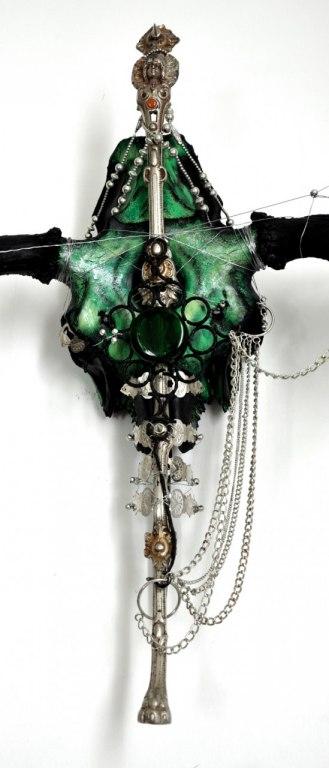 Skull Artwork by Petra Shara Stoor