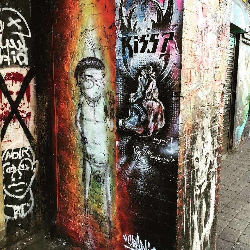 The streets of Shoreditch are full or fantastic street art! An outdoor exhibition whereever you walk!