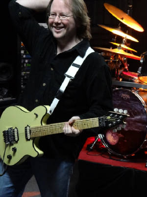 Derek Sanders (Guitar)  Beginning, Intermediate & Advanced Levels. Derek is a master of sweep arpeggios and controlled speed. Influences include Eddie Van Halen, Steve Vai, and Yngwie Malmsteen. If you want to learn from a gifted shredder, Derek is your man!