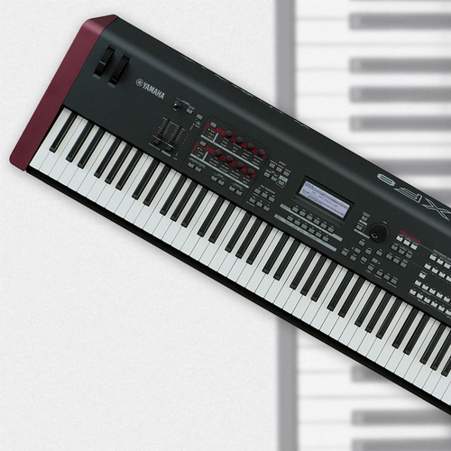 Yamaha MOXF8 88-Key Weighted Synth Keyboard — Larry's Music & Sound