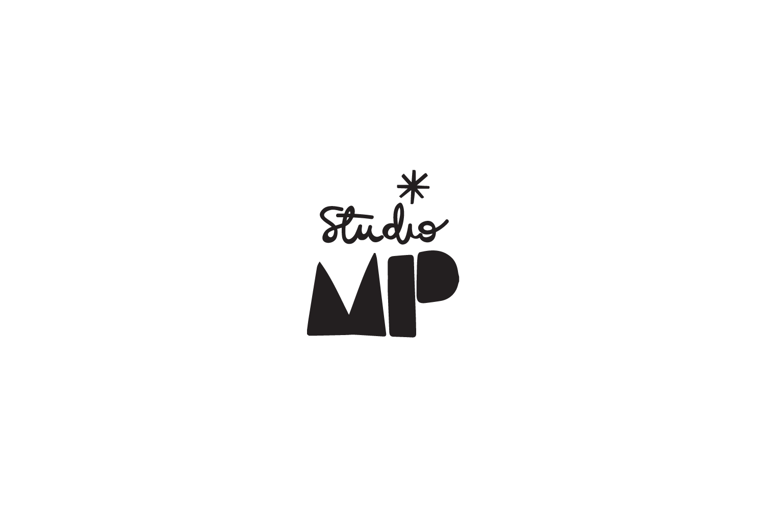 Studio MP: logo for downloadable knitting patterns from Misha & Puff in Boston, MA