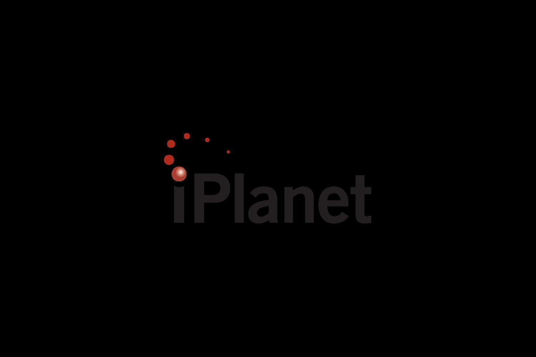 iPlanet: logo for an enterprise software company in Santa Clara, CA