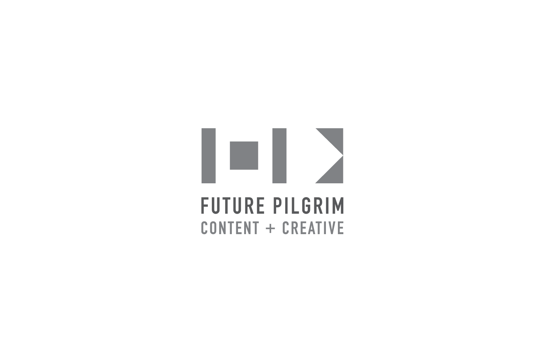 Future Pilgrim: logo for a multi-modal creative agency in Los Angeles, CA