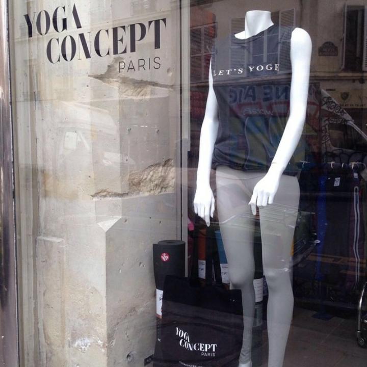 Yoga Concept: Store signage