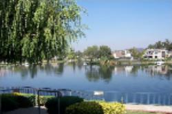 Picture of beautiful Westlake in Westlake Village, California.