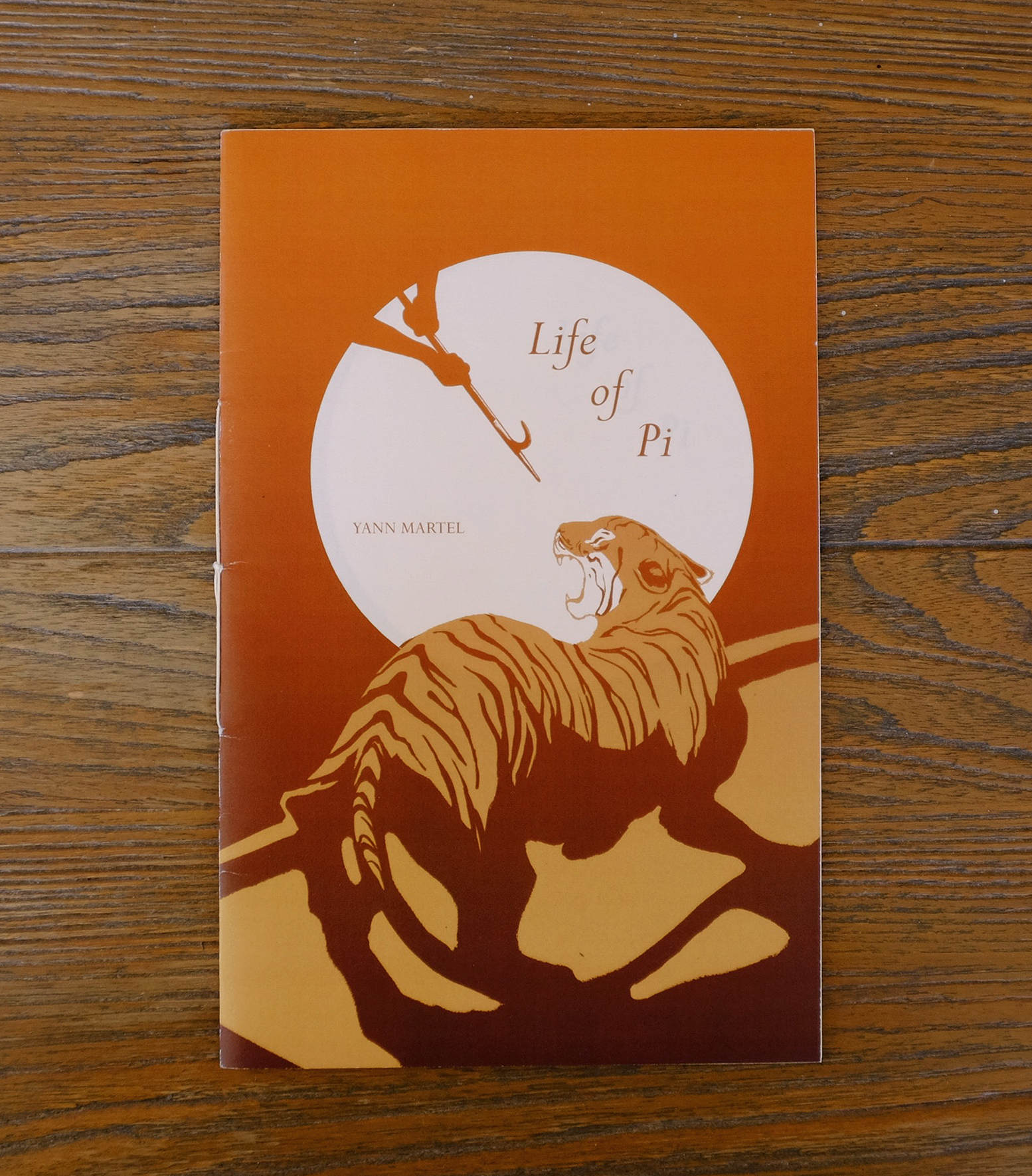 Life of Pi Illustrated Chapter Book