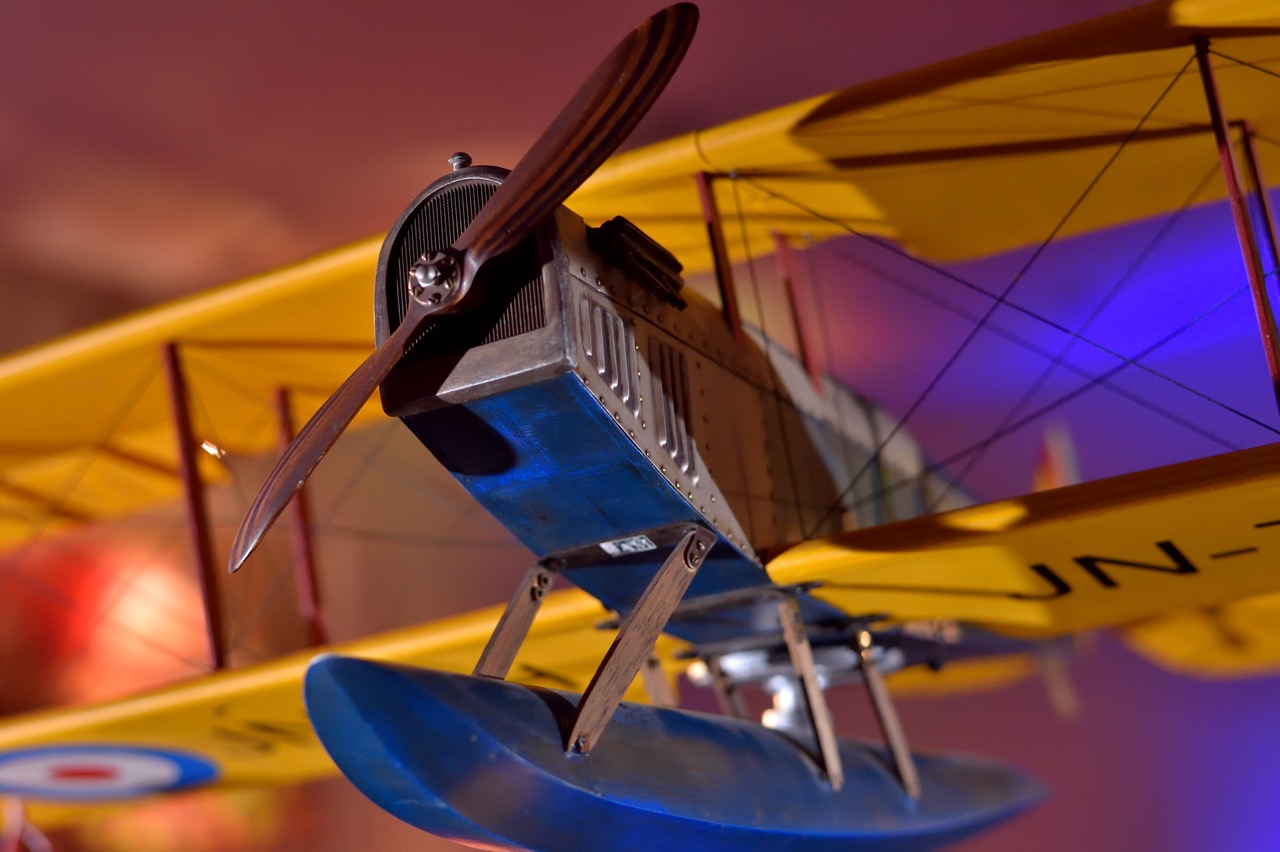 Details of this classic biplane