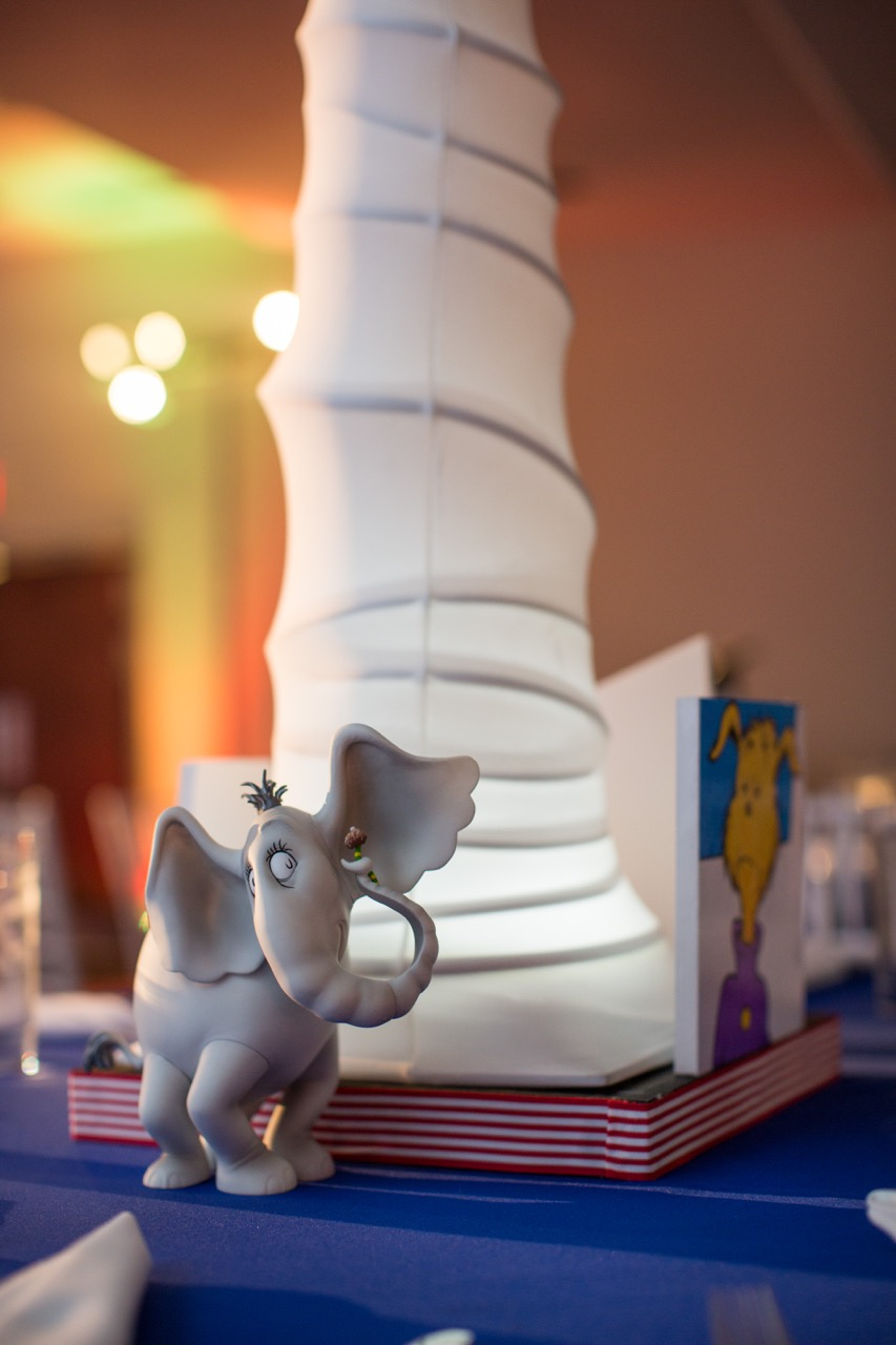 Horton is one of our favorite Dr. Seuss characters, so we included him in our Dr. Seuss themed centerpiece