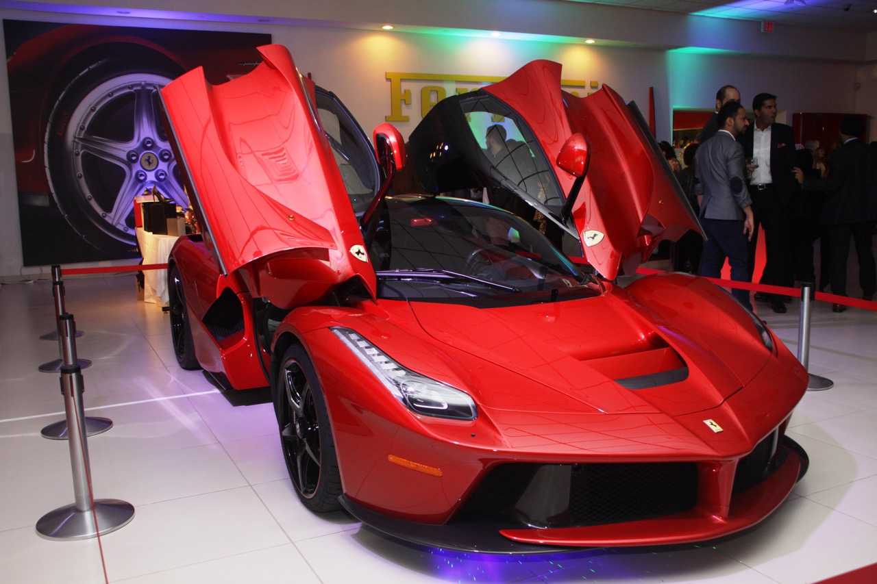 Ferrari La Ferrari • Lighting and Lasers by Eggsotic Events • Photo by Ryan Grant