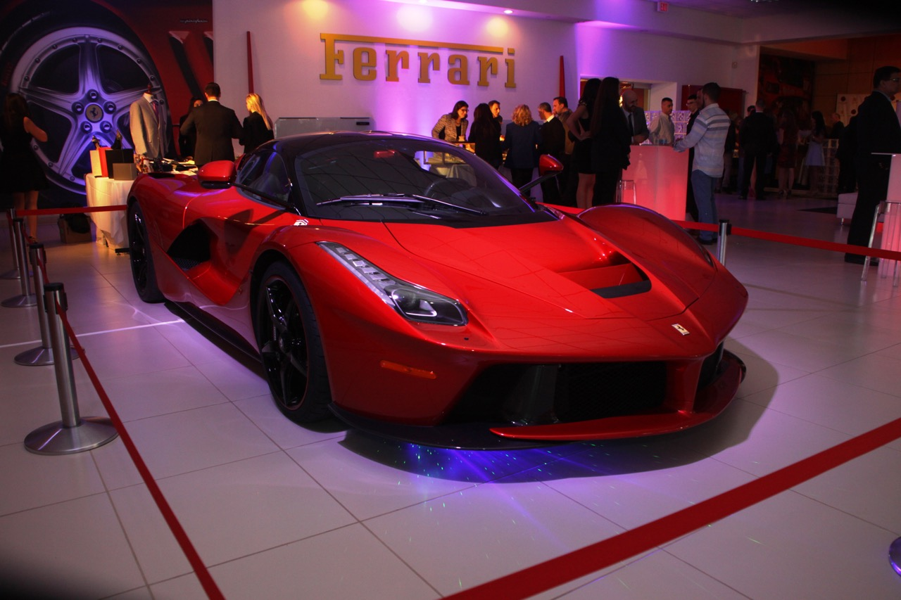 Ferrari LaFerrari • Lighting and Lasers by Eggsotic Events • Photo by Ryan Grant
