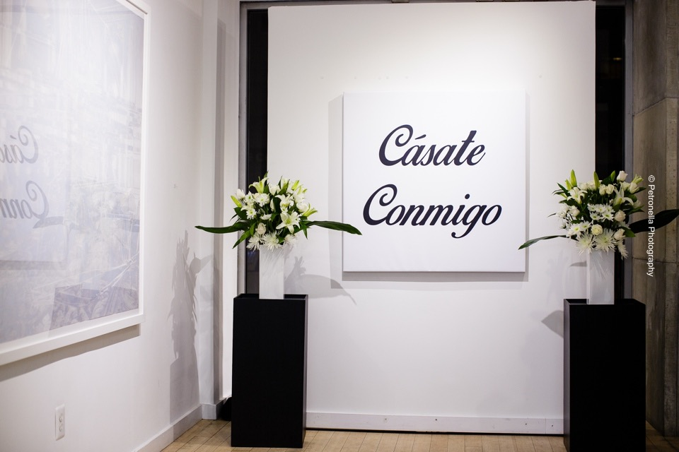 Marriage Proposal Decor by Eggsotic Events NYC Art Gallery Muriel Guepin Flowers Floral Decor Will You Marry Me Custom Artwork Surprise Marriage Proposal Eggsotic Events Event Decor NJ NYC 51.jpg
