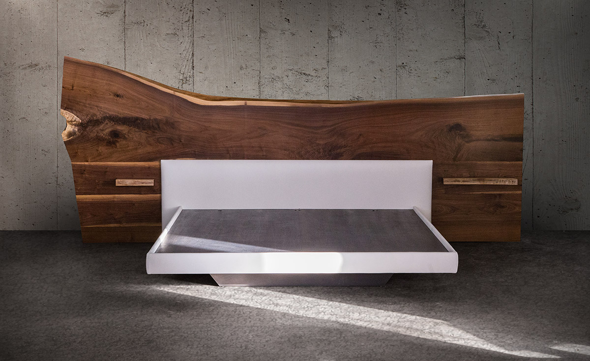 best website 07874 9432c SENTIENT Live-Edge Bed — SENTIENT - Made in Brooklyn