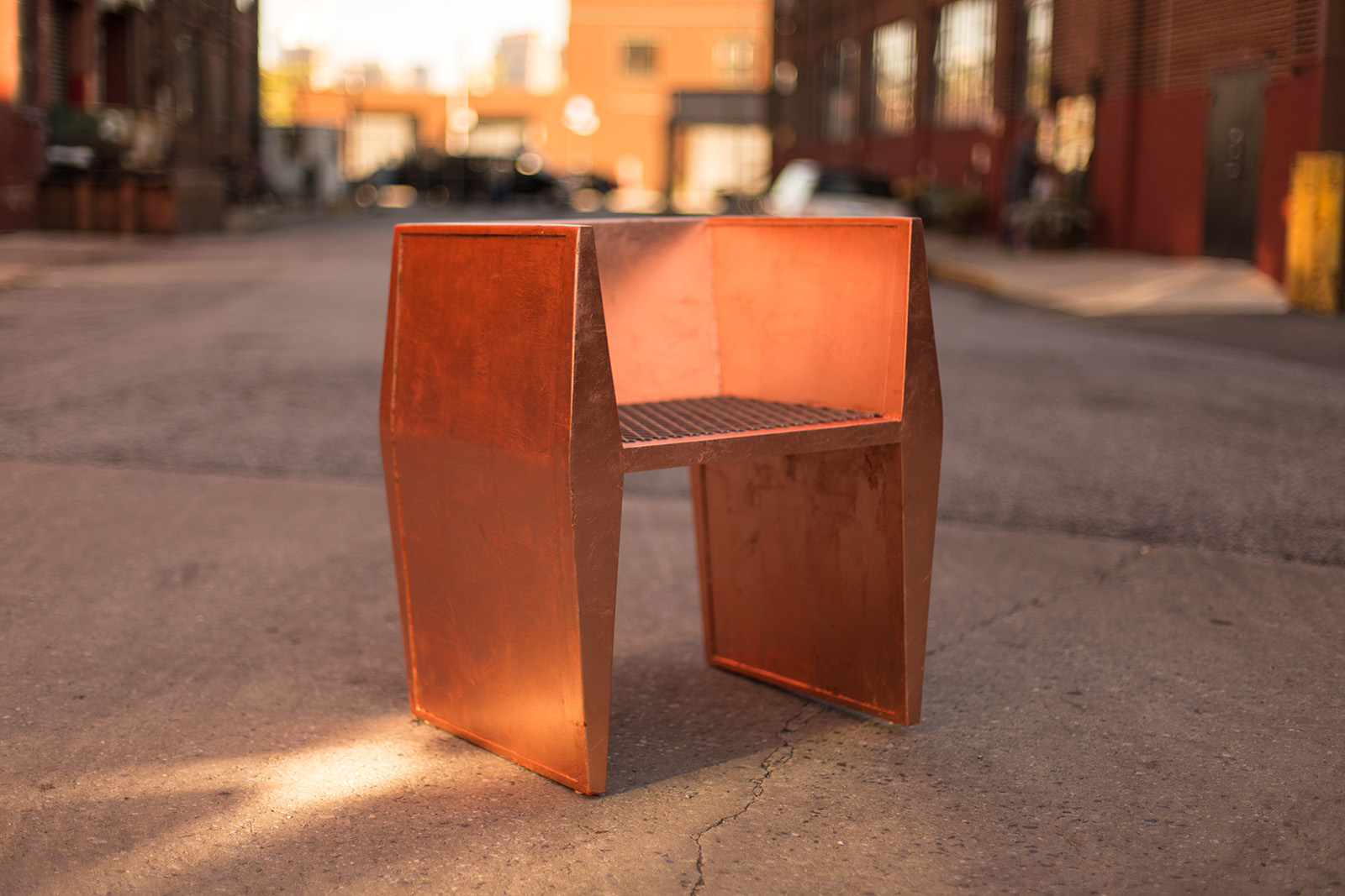 Sapience Chair in Copper Leaf