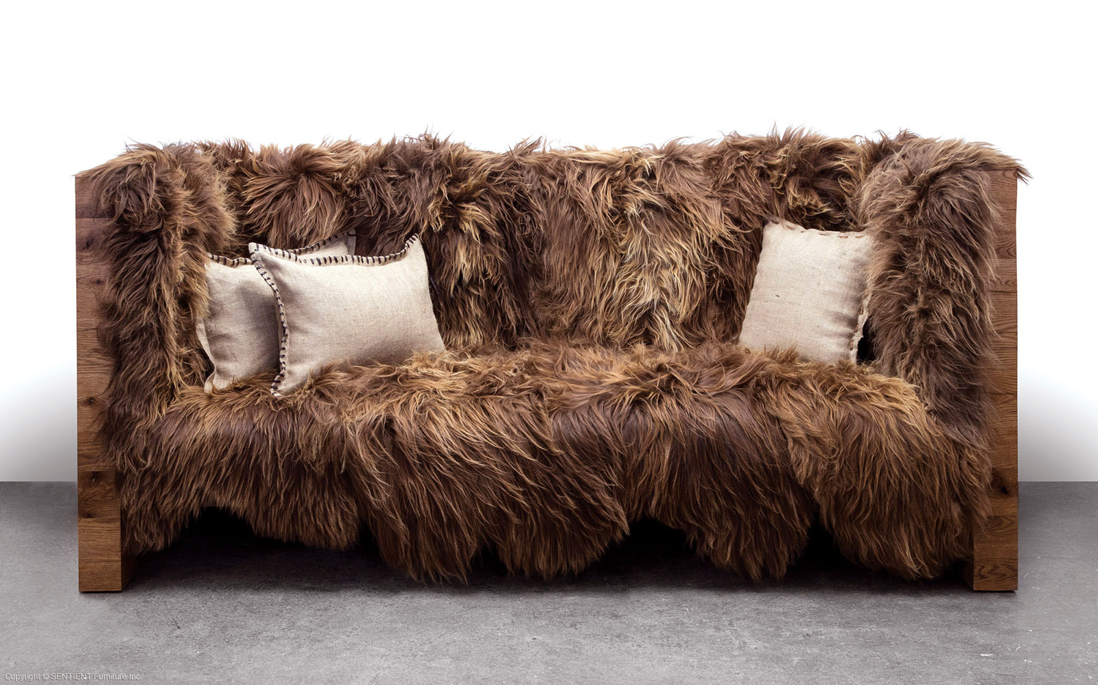 SENTIENT Long Wool Sofa