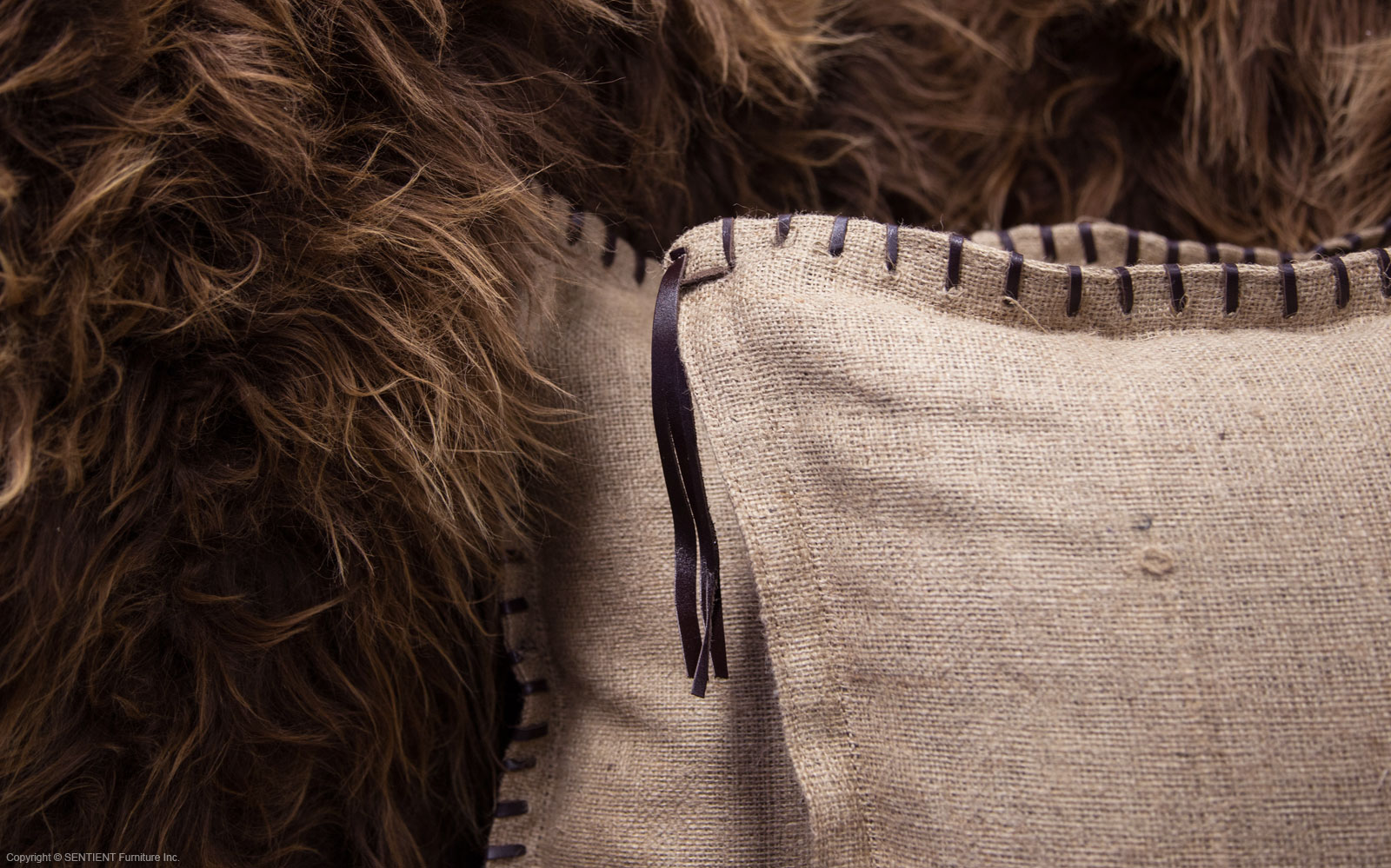 SENTIENT Long Wool Sofa