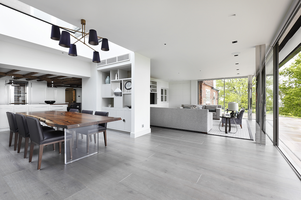 Sentient Live Edge Table in London Home