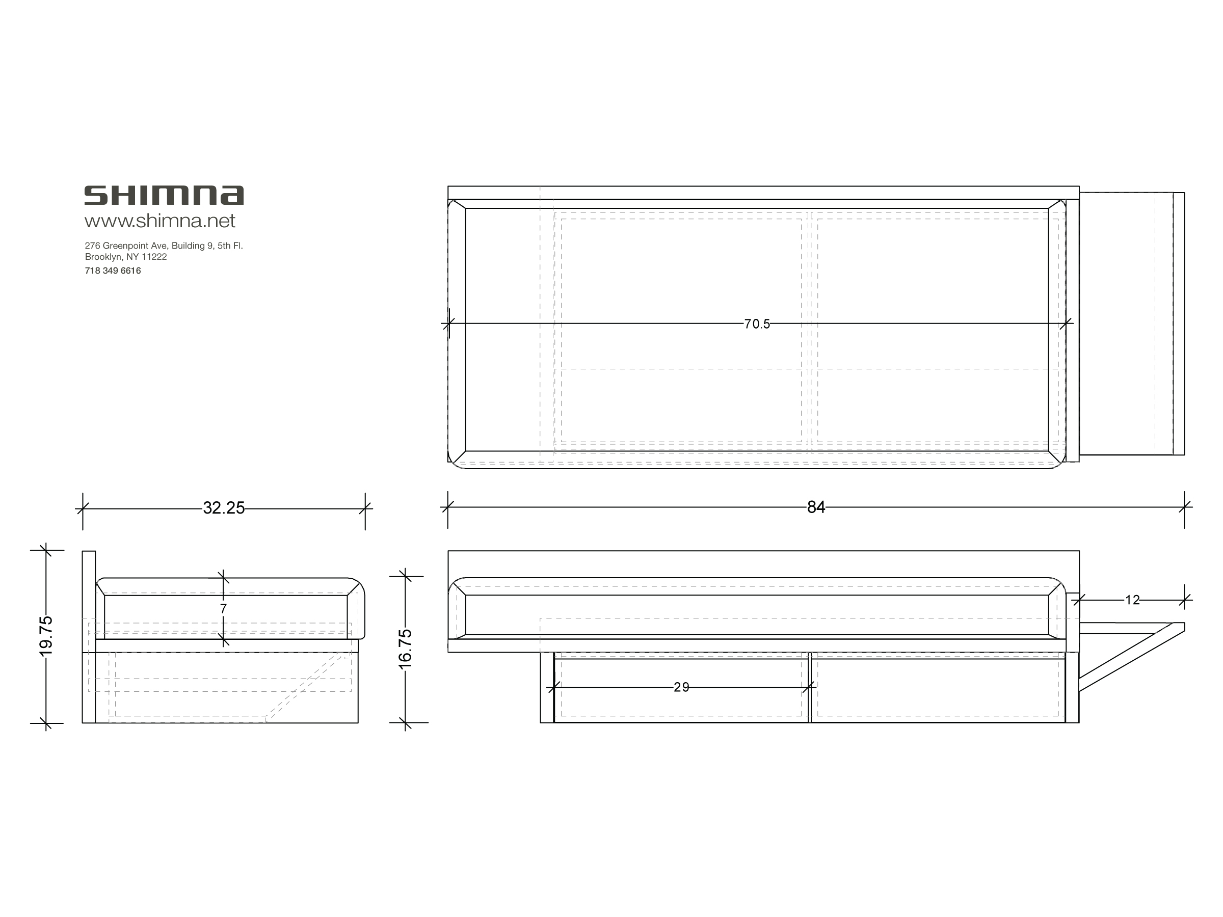Product Plan Drawing