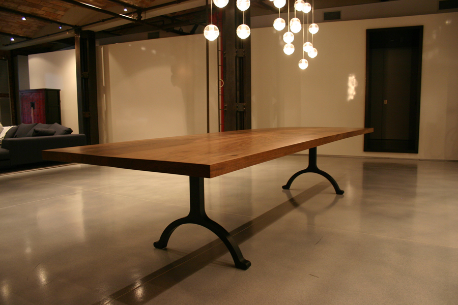 Copy of Large Communal Dining Table Custom 14 Footer