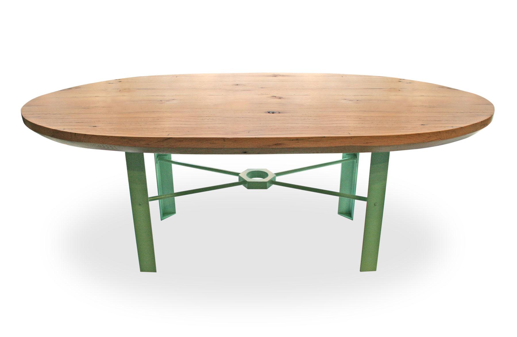 Copy of Reclaimed Oak Oval Table