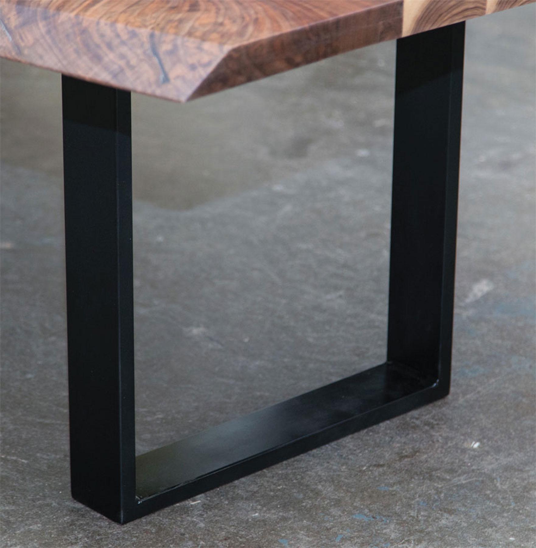 Blackened Steel Frame