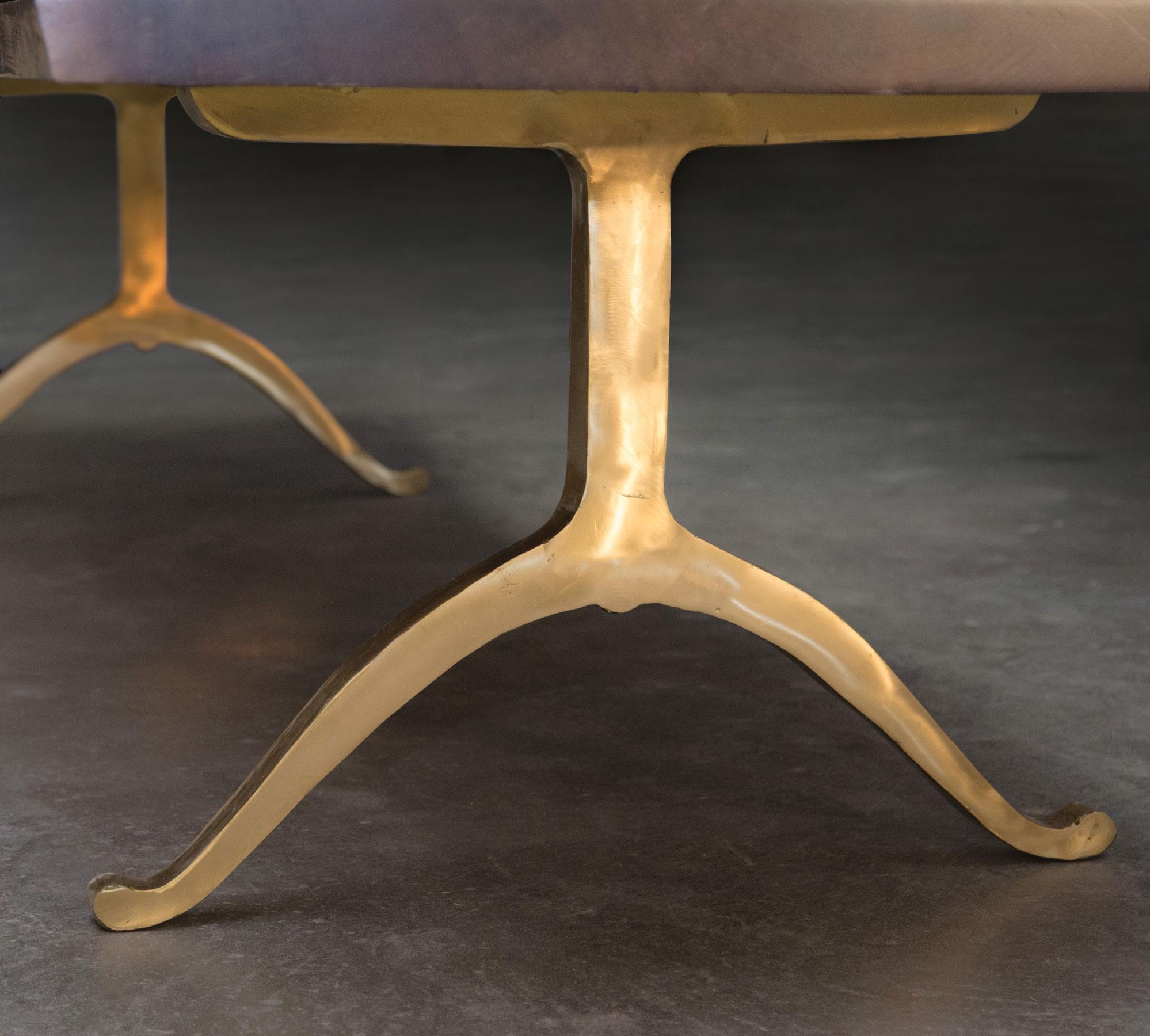 Brass Wishbone Legs