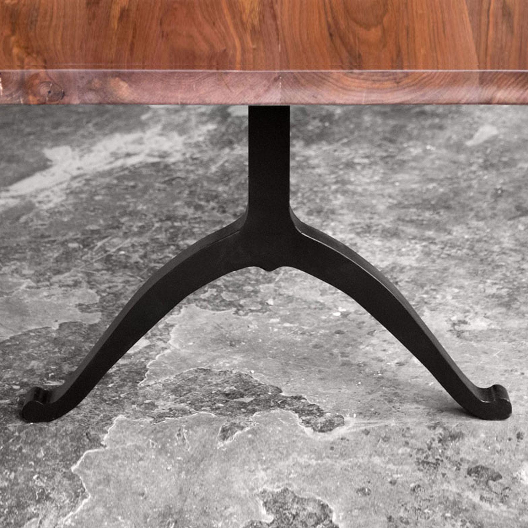 Blackened Steel Wishbone